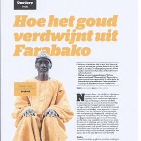 Hoe het goud verdwijnt uit Farabako