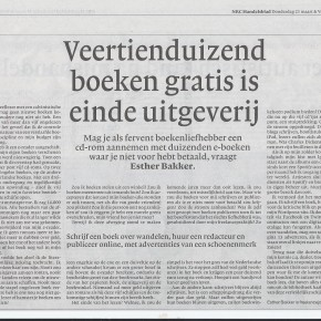 NRC opinie-artikel over illegale ebooks