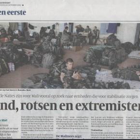 Nederlandse VN-soldaten naar Mali
