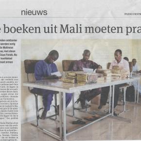 Reportage uit Bamako: manuscripten Timboektoe